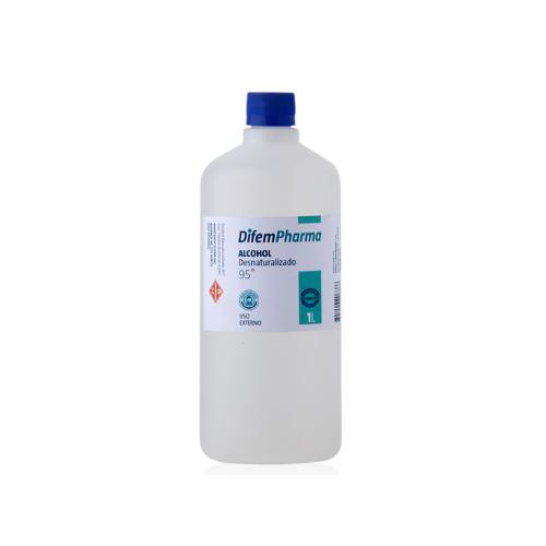 alcohol desnaturalizado 95 difem pharma 1 Litro SUR LIMPIEZA