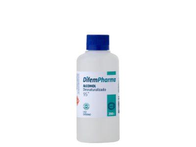 alcohol desnaturalizado 95 difem pharma 250ml SUR LIMPIEZA