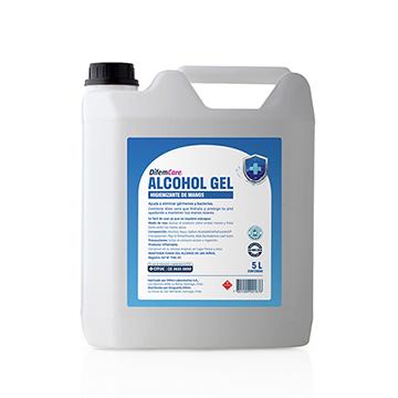 alcohol gel difem care 5 Litros SUR LIMPIEZA