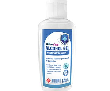 alcohol gel difem care 60ml SUR LIMPIEZA